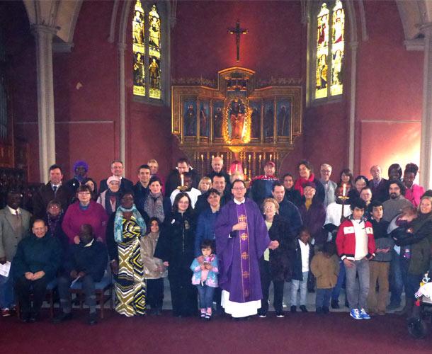 St Marys Church Congregation