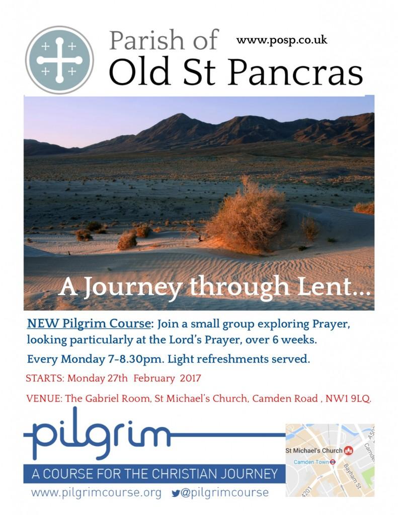 Pilgrim Course series 2 Lent_desert poster final